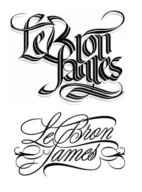 lebron james logo vector