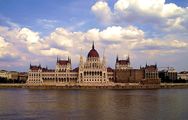 Budapest Parliament Building - Flickr CC nickton