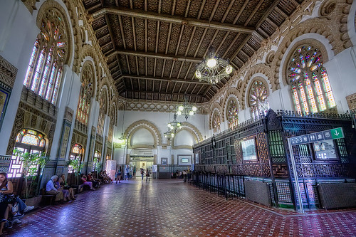 Railway Station – Estación de Toledo HDR