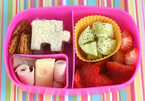 preschool bento for autism awarness