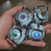 "Portal 2 Personality Sphere Figures (Wheatley, Adventure/Rick, Space, ""Fact"") by ammnra"