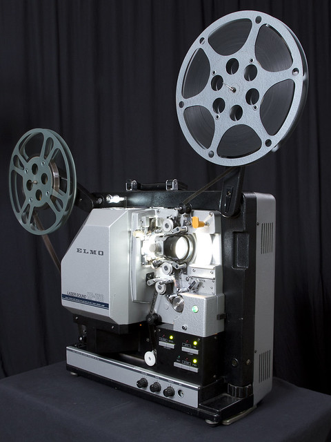 16mm Reel Movie Projectors: Elmo XP-750 16mm Sound Movie Projector With Xenon-arc Lamp