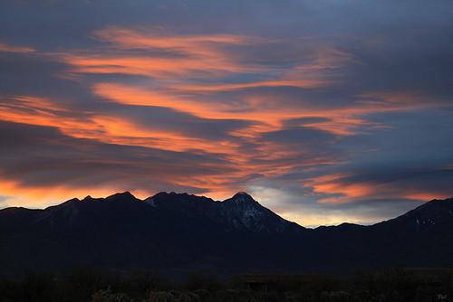 arizona sunrise az santaritamountains