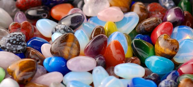 Assorted gems