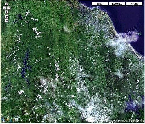 Imej Satelit Kelantan