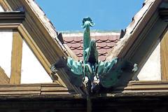 04 mai 2008 Strasbourg Lycée internationnal des Pontonniers Toit et ferronnerie
