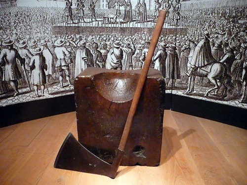 The Executioner's Axe, Tower of London