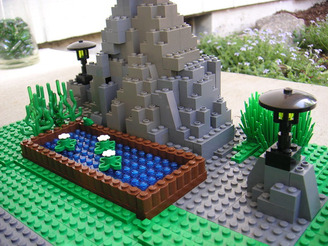 Lego landscape flickr photo sharing for Lego garden pool