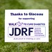 JDRF Thanks To:Glaceau