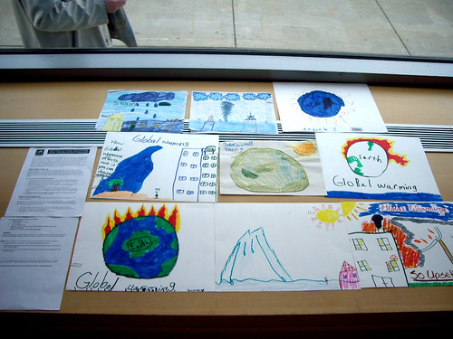 Drexel School of Public Health--Child Artwork, Global Climate Change