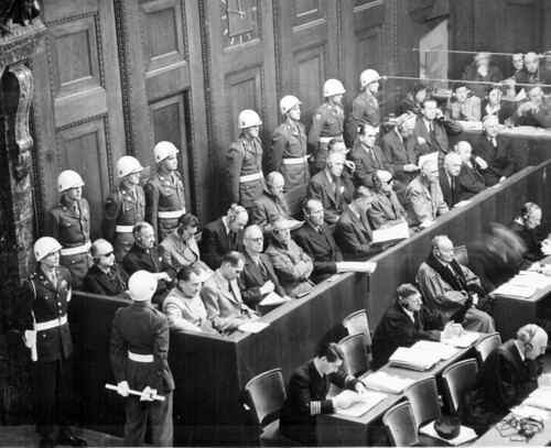 Nuremberg Trials by Marion Doss