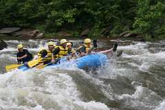 whitewater kayaking(0.0), sports(1.0), rapid(1.0), river(1.0), recreation(1.0), outdoor recreation(1.0), boating(1.0), extreme sport(1.0), water sport(1.0), raft(1.0), rafting(1.0),