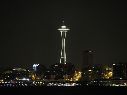 Downtown Seattle Skyline From Alki