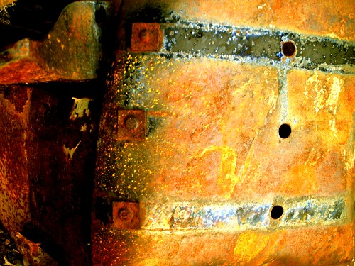 abstract newmexico car gold rust junkyard cerrillos roedel