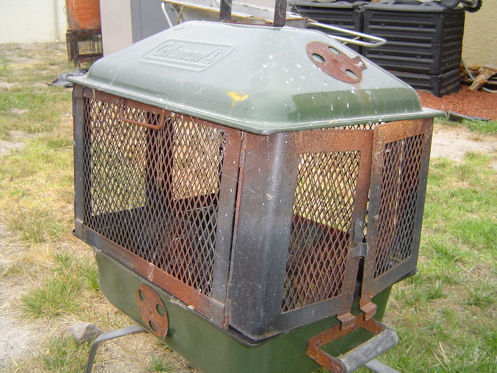 Craigslist Outdood Coleman Portable Firepit 075 '' - Mobile Fire Pits - Camping - Disconnected Offroad