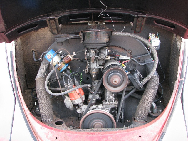 1964 Air Cooled Vw Bug Engine Flickr Photo Sharing