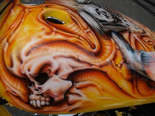 Harley Davidson Custom Paint