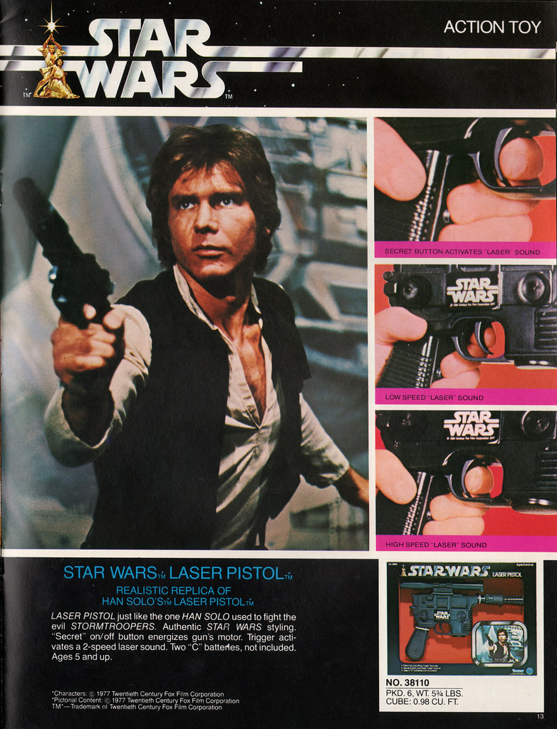 Kenner Star Wars product Supplement 1979 - page 14