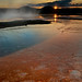 Grand Prismatic Spring Sunset, Yellowstone N.P.