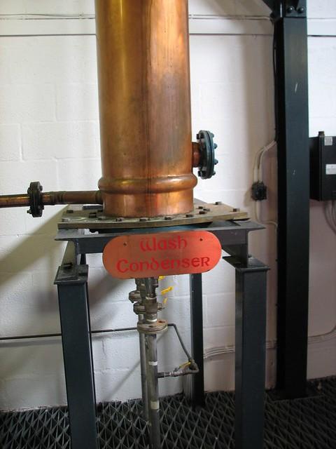Arran Distillery -  Wash Condenser