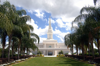 Orlando Florida Temple, Front and Center
