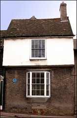 Photo of William Parker blue plaque