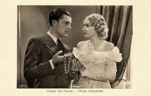 Viktor de Kowa and Hilde Weissner in Lockvogel