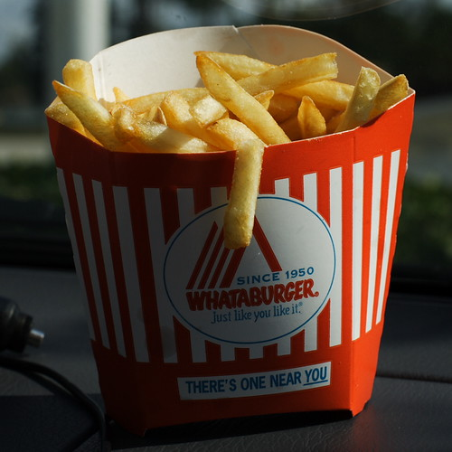 food fastfood fries whataburger