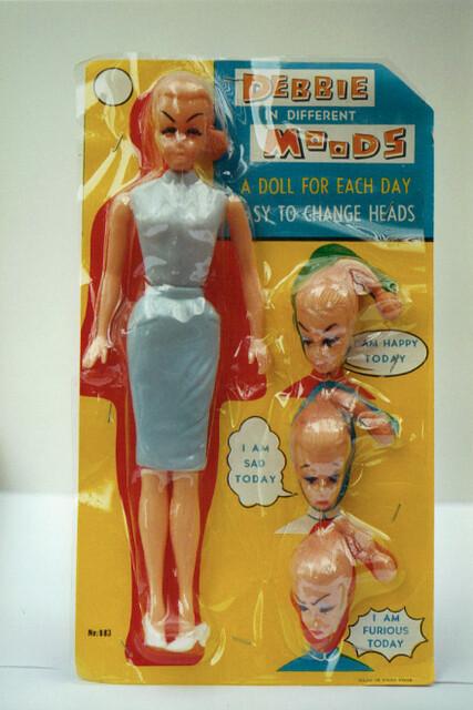 Debbie In Different Moods