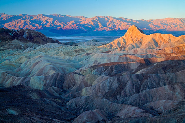 Zabriskie Point, Estados Unidos