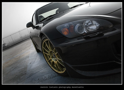 HONDA S2000 - BLACK & GOLD