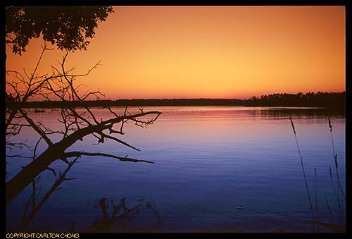 Kagawong lake, Ontario
