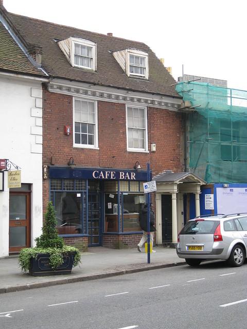 Cafe Puccino's no more...