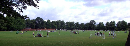 Palmer's park in Newtown - still used for football tournaments and more!