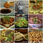 Chinese Food Mosaic