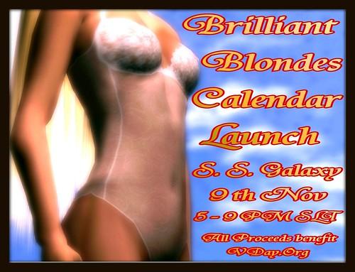 Lingerie Calendar Launch.