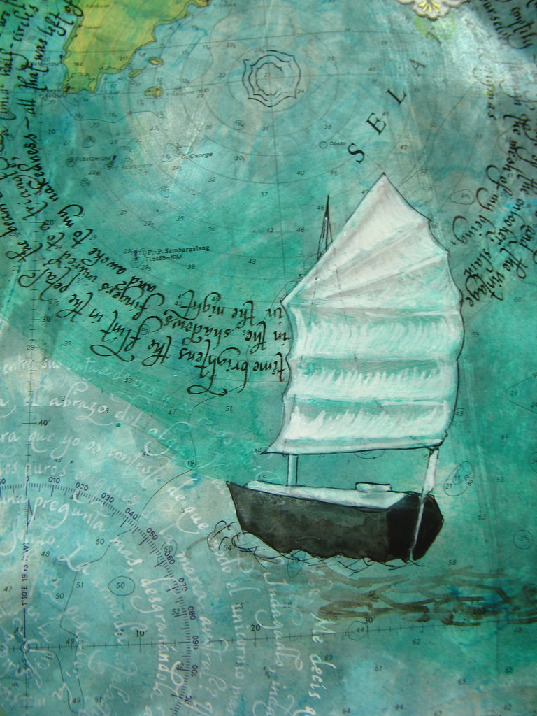 Love Letters to a Sailor (detail)