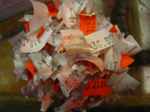 price tag pileup