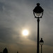 Street Lamp over Seine