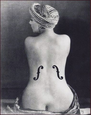 Le Violon d'Ingres(Kiki) Man Ray