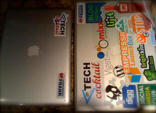 APPLE LAPTOP STICKERS