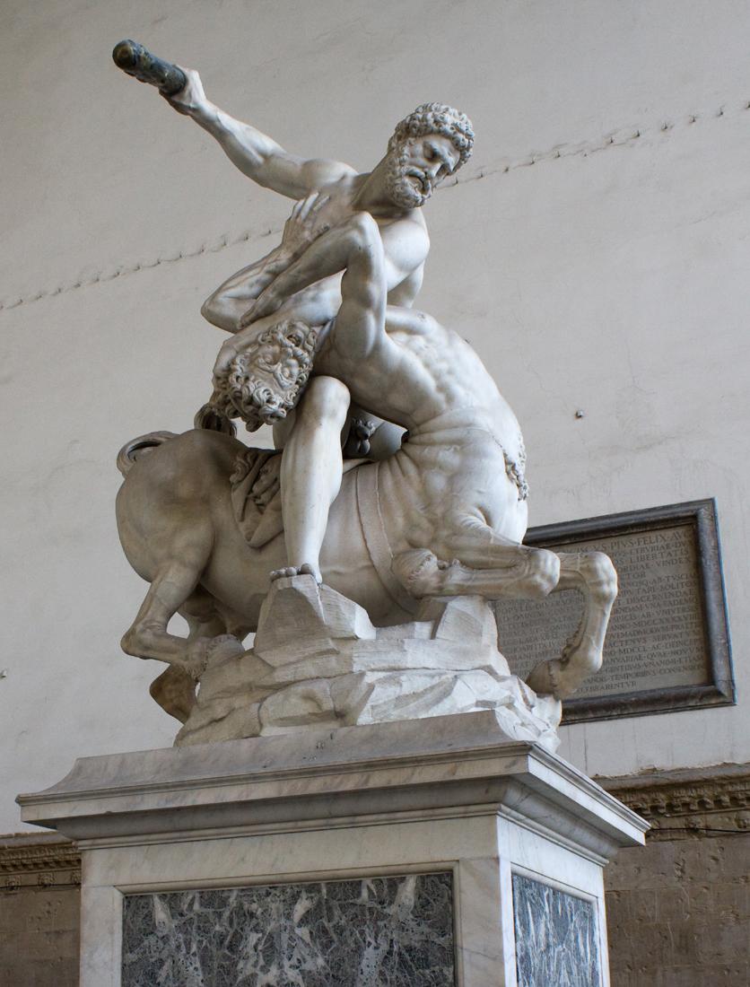Hercules & Centaur, Piazza della Signoria, Florence
