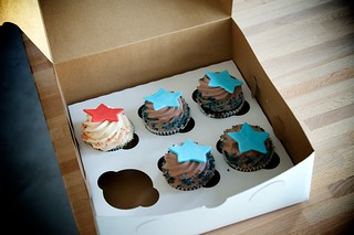 Election Day Cupcakes, by DimitriB