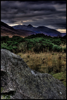 Ben Cruachan from Glen Etive