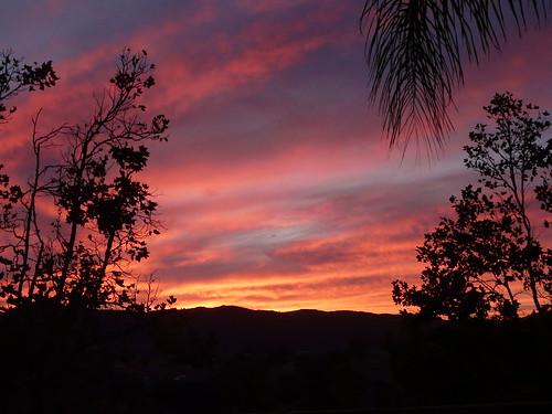 sunset silhouette clouds southerncalifornia murrieta riversidecounty petesnewhouse