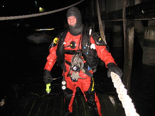 FDNY Marine Div. night dive confined space mini van 015
