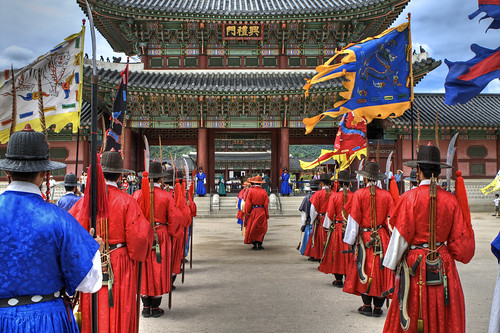 Korean Culture And Traditions Changing of the Royal GuardsKorean Culture And Traditions