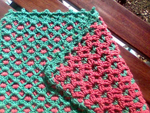 Tapete dupla face de crochet flickr photo sharing for Tapetes de crochet