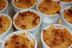 fried food(0.0), arancini(0.0), produce(0.0), muffin(0.0), cottage pie(0.0), food(1.0), dish(1.0), soufflã©(1.0), dessert(1.0), cuisine(1.0),