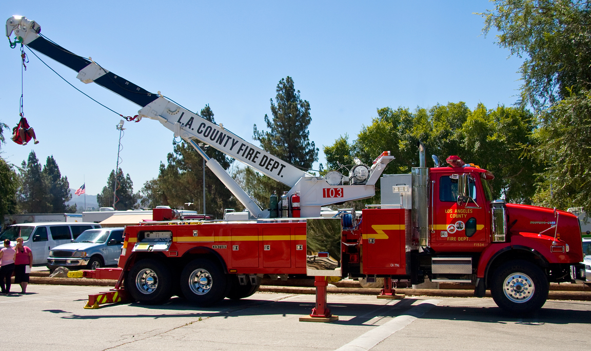 Los angeles county fire dept heavy rescue 103